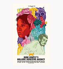 Dirk Gently's Holistic Detective Agency Photographic Print