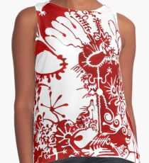 This is a red dream Contrast Tank