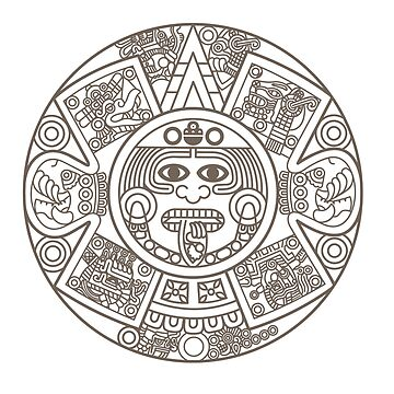 Mayan Circle by whereables