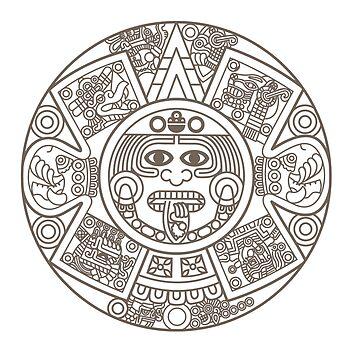 Mayan Circle by whereables