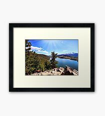 Sapphire Point Wedding Day Framed Print