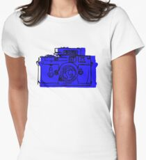 Click Click Blue Women's Fitted T-Shirt
