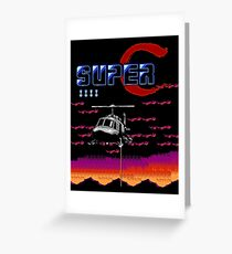 SUPER CONTRA / GRYZOR - NES CLASSIC Greeting Card