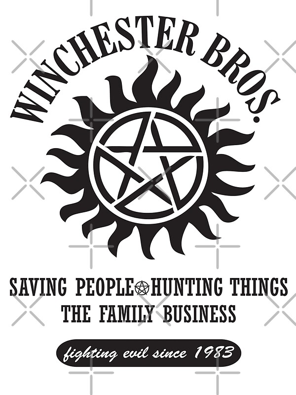 Quot Supernatural Winchester Brothers Quot Stickers By