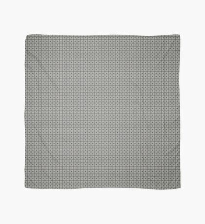 Dots  & Squares in Gray Scarf