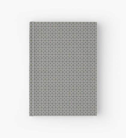 Dots  & Squares in Gray Hardcover Journal