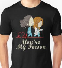 You're my person heartbeat Unisex T-Shirt
