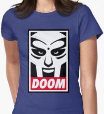 MF Doom Womens Fitted T-Shirt
