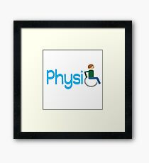 PhysiO Framed Print