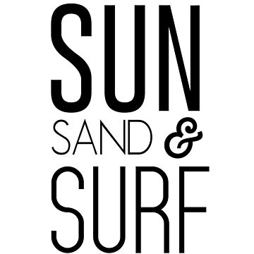 Sun, Sand and Surf by whereables