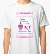 Debbie Abrahams Mystery Blanket Club 10th Anniversary Tour Classic T-Shirt