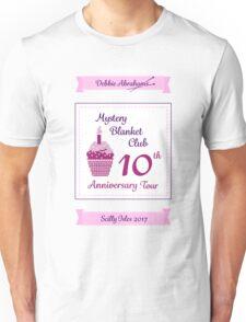 Debbie Abrahams Mystery Blanket Club 10th Anniversary Tour Unisex T-Shirt