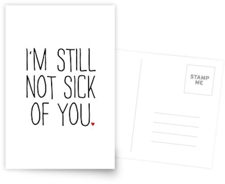 I'M STILL NOT SICK OF YOU by funkythings