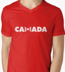 Canada 150th Anniversary Men's V-Neck T-Shirt