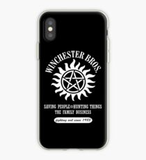 SUPERNATURAL - WINCHESTER BROTHERS SINCE 1983 iPhone Case