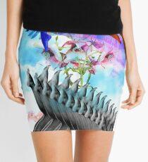 Femininity in Spring Mini Skirt