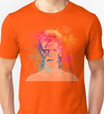 Bowie painting Unisex T-Shirt