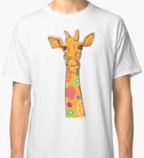 Orange Fruit Giraffe Classic T-Shirt
