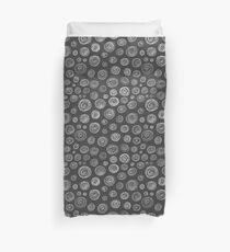 Handdrawn Circles Duvet Cover