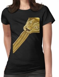 COMMING TO AMERICA - KING JAFFE JOFFER LION HEAD Womens Fitted T-Shirt