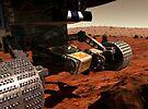 Eine Nahansicht des Arms auf NASAs Mars 2003 Rover. von StocktrekImages