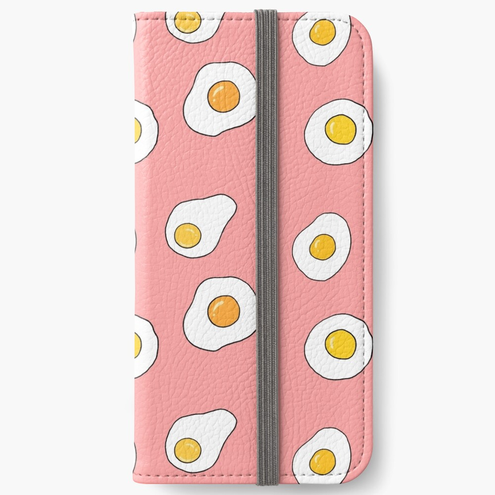 Fried Eggs iPhone Wallet