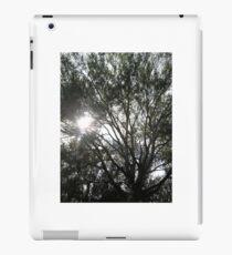 sun and tree iPad Case/Skin