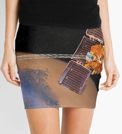 Künstlerische Wiedergabe von Mars Rover. Minirock