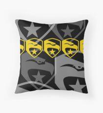 The Iconic G.I.Joe (black) Throw Pillow