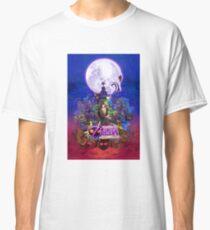 The Legend of Zelda - Majora's Mask 3D Artwork Classic T-Shirt