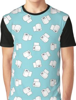doodle pattern. toilet paper T-shirt Graphique