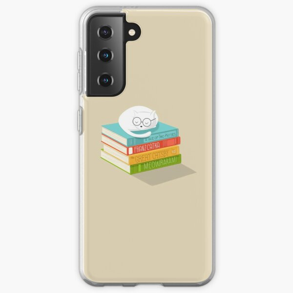 The Cat Loves Books Samsung Galaxy Soft Case