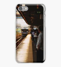 Golden Hour Train iPhone Case/Skin