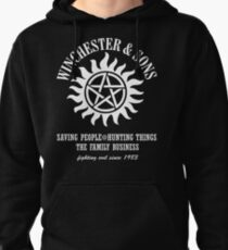 SUPERNATURAL WINCHESTER & SONS t-sHIRT Pullover Hoodie