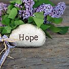 Hope and Lilacs  by Maria Dryfhout