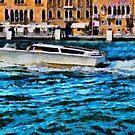 Fast boat in Venice by ashishagarwal74