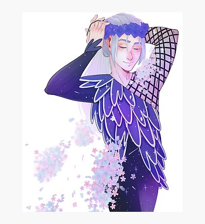 Yuri on Ice - Young Viktor Photographic Print