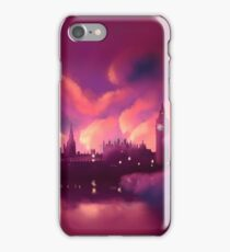 London at night iPhone Case/Skin