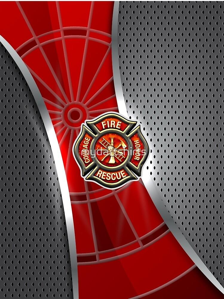 Firefighter Darts Shirt by mydartshirts