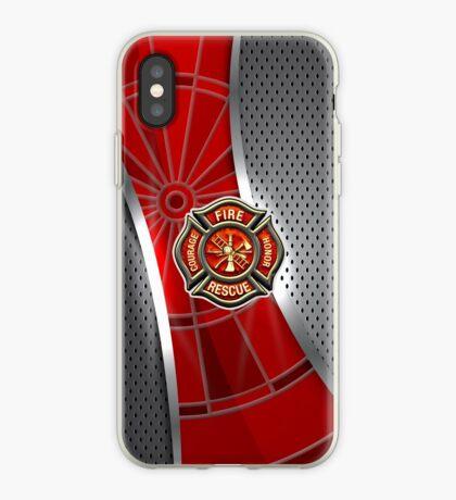 Firefighter Darts Shirt iPhone Case