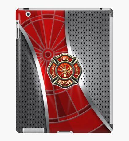 Firefighter Darts Shirt iPad Case/Skin