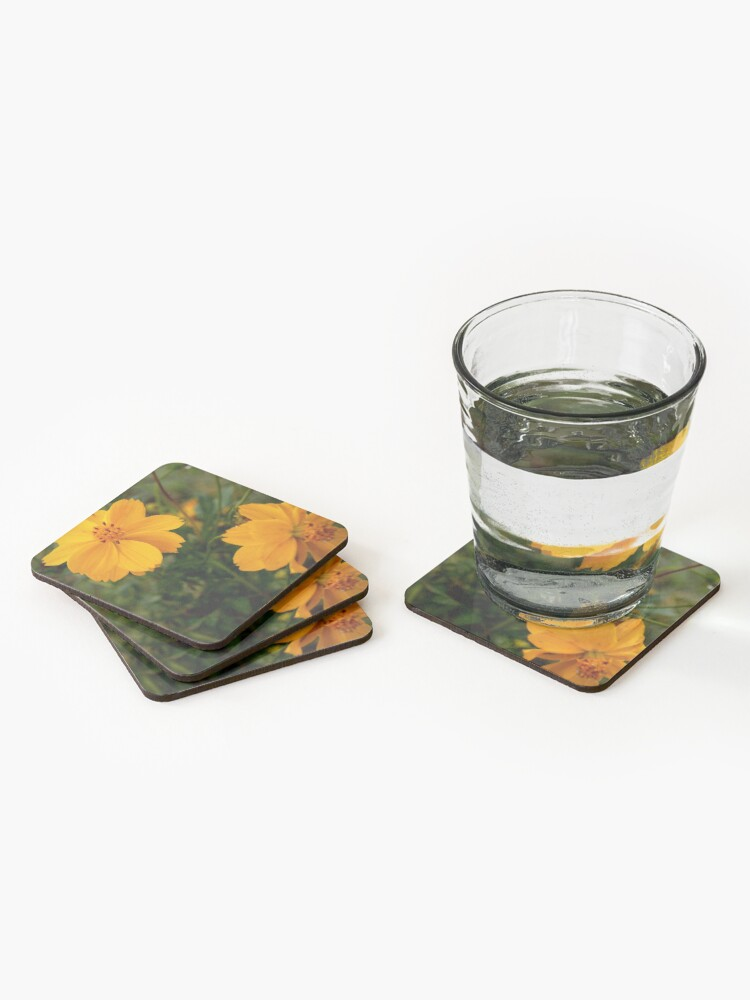 Alternate view of Golden Coreopsis from A Gardener's Notebook Coasters (Set of 4)
