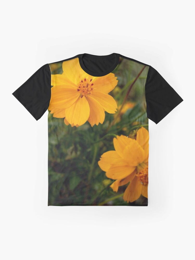 Alternate view of Golden Coreopsis Graphic T-Shirt