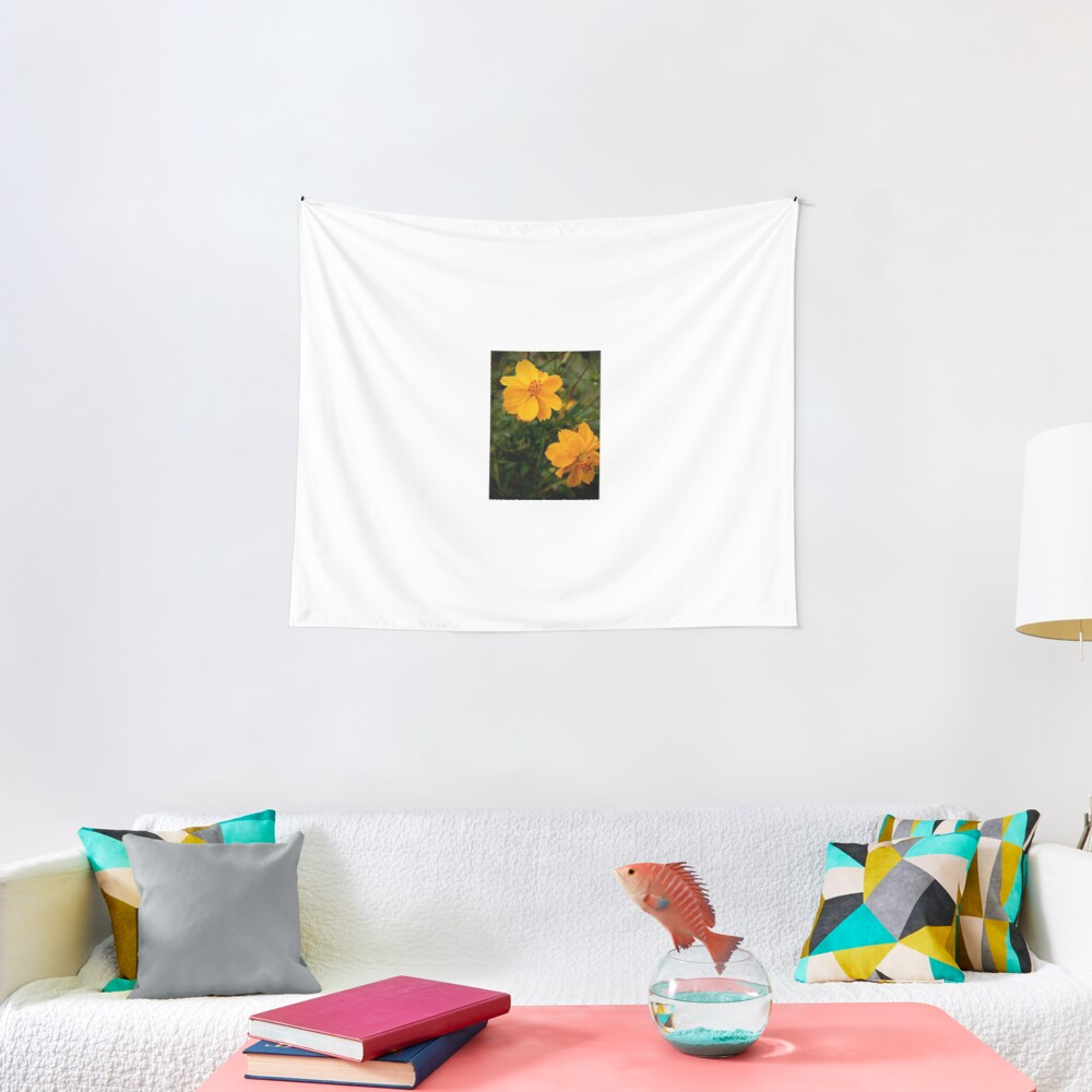Golden Coreopsis Tapestry