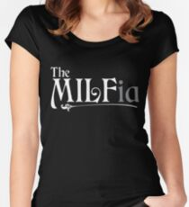 The MILFia Women's Fitted Scoop T-Shirt