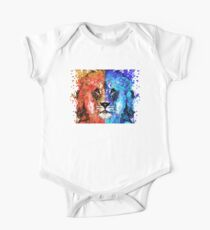 Lion Art - Majesty - Sharon Cummings One Piece - Short Sleeve