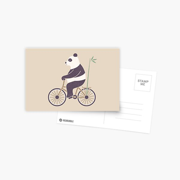 My Bamboo Bicycle Postcard