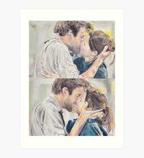 Jim and Pam Proposal Art Print