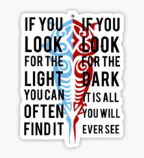 Light in the Dark Sticker