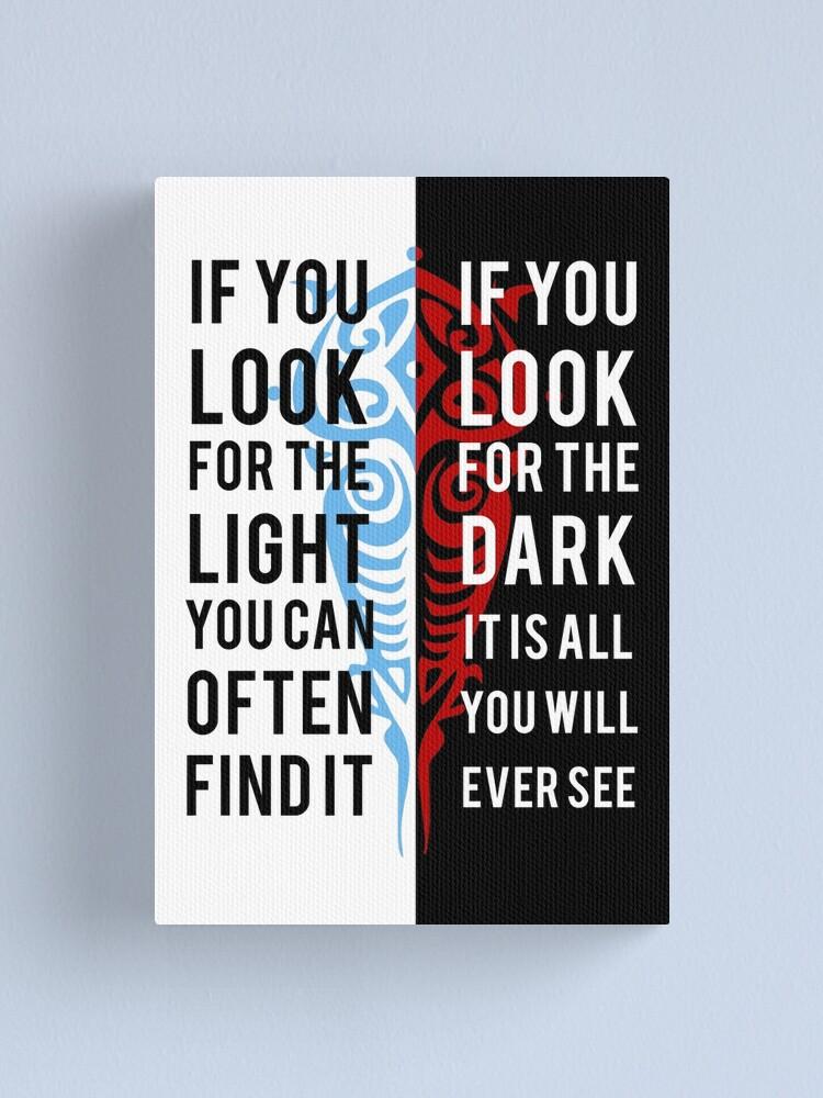 Alternate view of Light in the Dark Canvas Print